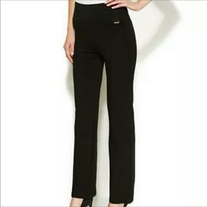 Calvin Klein Power Stretch High Waisted Pants Sz L